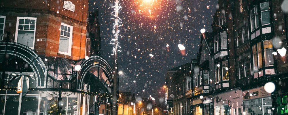 invierno en la ciudad con calefaccion economica